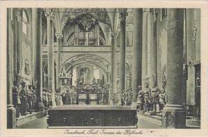 Austria Innsbruck Inneres der Hofkirche