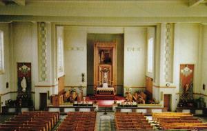 Ste. Marguerite Marie Church, Insde View, MAGOG, Quebec, Canada, 40-60´
