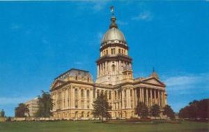 State Capitol of Illinois, Springfield, Illinois unused 1...