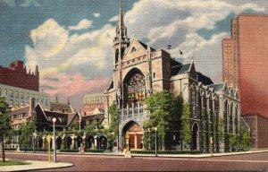 Illinois Chicago The Fourth Presbyterian Church 1951 Curteich