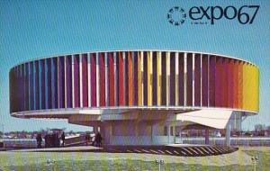 Canada Expo67 The Kaleidoscope Pavilion Montreal Quebec