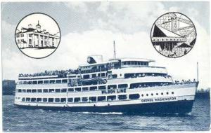 Potomac River Cruise aboard M.V. George Washington, Wilson Line