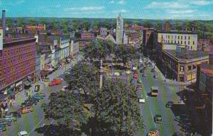 New York Watertown Public Square Looking East 1963