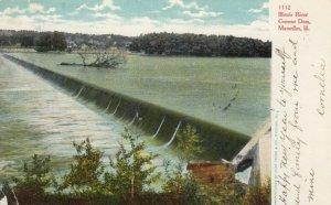 MARSEILLES , Illinois , 1907 ;  Illinois River Cement Dam