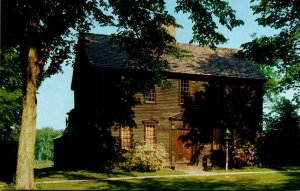 Massachusetts Deerfield Sheldon Hawks House 1734