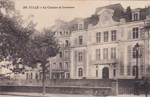 TULLE (Correze), France, 1900-1910s; La Chambre De Commerce