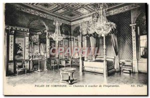 Old Postcard Compiegne Room A Sunset From & # 39Imperatrice