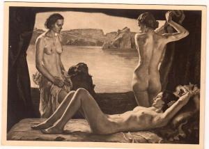 Naked Ladies - Munchen. Haus der Deutschen Kunst