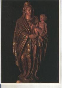 Postal 015100: Virgen de Esteban Jordan, siglo XVI