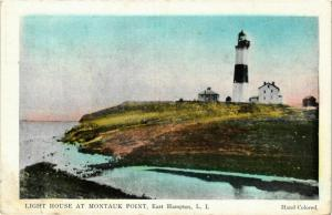 CPA EAST HAMPTON, L.I. Light house at Montauk Point LIGHTHOUSE PHARE (708332)