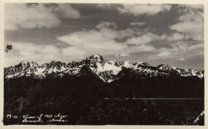 RP: SEWARD , Alaska , 1930-40s ; Mountains