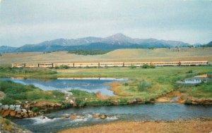 Advertising Rio Grande Railroad Colorado Postcard 20-1265
