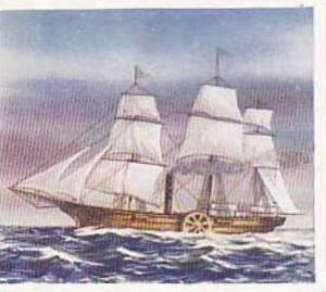 Phillips Vintage Cigarette Card Ships That Made History 1938 No 27 The  Savannah