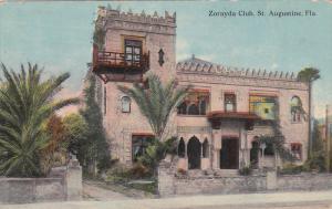 The Zorayda Club, St. Augustine, Florida, PU-1915