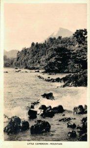 Cameroon Little Cameroon Mountain Vintage RPPC 07.32