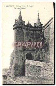 Picturesque Old Postcard Drome Grignan Madame de Sevigne Chateau entree du Ch...