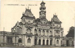 CPA Vietnam Indochine COCHINCHINE Saïgon - Hôtel de Ville (62179)