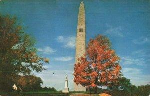Postcard Battle Monument Bennington Vermont