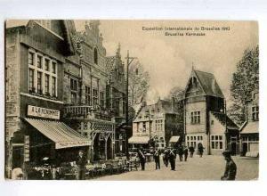 126617 BELGIUM Exposition Bruxelles 1910 Kermesse Vintage PC