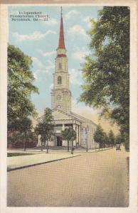 Independent Presbyterian Church, SAVANNAH, Georgia, 1910-1920s