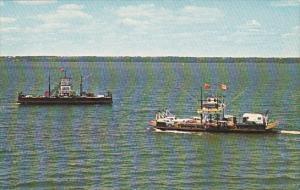 Car Ferries , QUINTES ISLE , Ontario , Canada , 50-60s