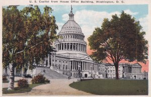 WASHINGTON D.C., 1900-10s; U. S. Capitol from House Office Building
