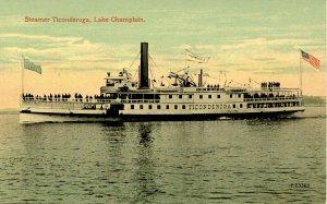 VT - Lake Champlain. Steamer Ticonderoga