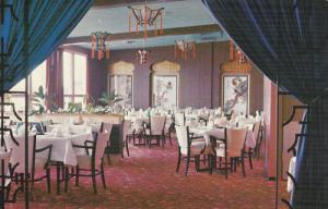 MEDICINE HAT, Alberta, Canada, 1940-1960's; Four Seasons Restaurant, Interior...