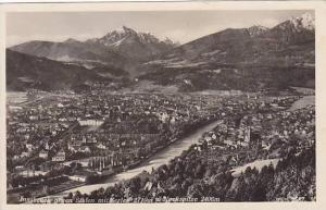 RP; Innsburg gegn Suden mit Serles 2719m Nockspitze 2406m, Tirol, Austria, PU...