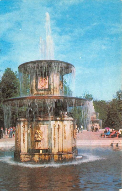 BR9840 The Roman Fountain Petrodvorets    russia