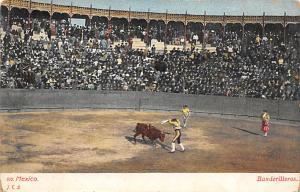 Banderilleros Tarjeta Postal Bullfighting Mexico Unused