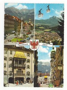 Tirol Austria Innsbruck Multiview Tyrol Vtg Postcard 4X6