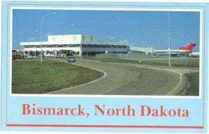 Bismarck Airport, Bismarck, North Dakota, ND, Chrome