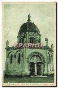 Old Postcard Forcalquier Notre Dame de Provence Chapel
