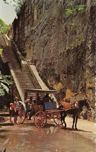 Historic Queen's Staircase, Nassau In The Bahamas, 1940-1960s