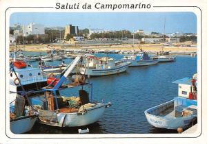 Italy Campomarino di Maruggio, Porto turistico Turistic Port Boats