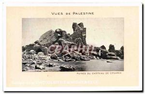 Postcard Views Of Ancient Ruins Palestine Du Chateau De Caesarea