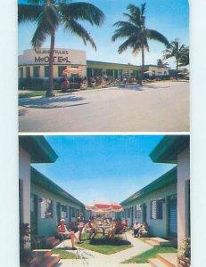 Pre-1980 APARTMENT MOTEL SCENE Miami Beach Florida FL AE2742