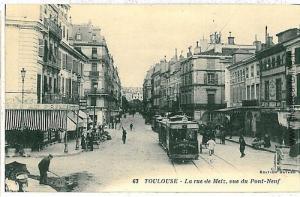 VINTAGE POSTCARD FRANCE - Haute-Garonne TOULOUSE