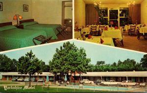 North Carolina Jacksonville Yorkshire Motel 1965