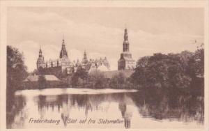Sweden Frederiksborg Slot set fra Slotsmellen