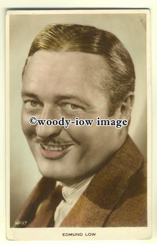 b2276 - Film Actor - Edmund Low - Postcard