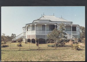 Australia Postcard - Lyndhurst, Typical Iron Lace House, Queensland  RR3552