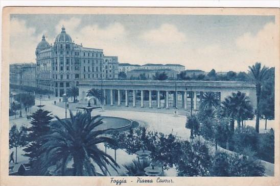 Italy Foggia Piazza Cavour 1944