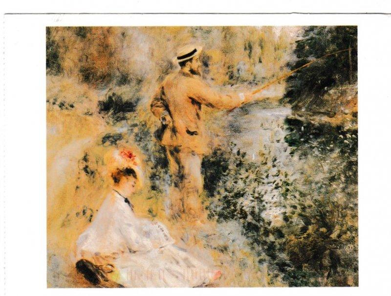 Postcard Art The Fisherman Pierre Auguste Renoir