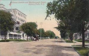 New Jersey Asbury Park Grand Avenue &  Marlborough Hotel