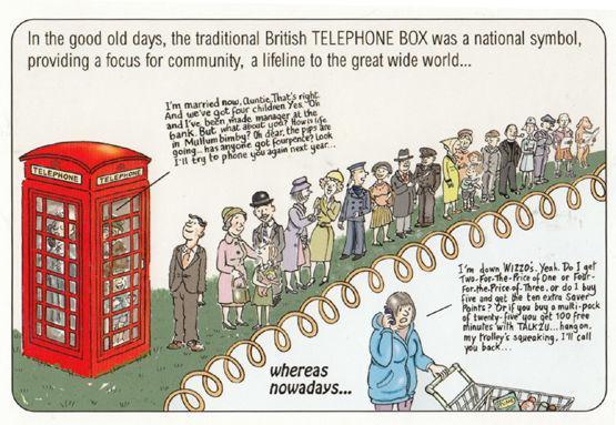 The Traditional Telephone Red Phone Box British Tourist