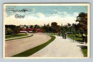 Cleveland OH-Ohio, Zoo And Boulevard, Brookside Park, Vintage c1917 Postcard