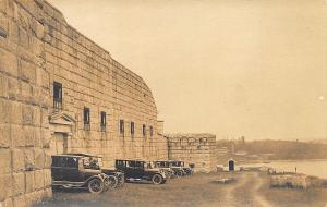 Prospect ME Fort Knox  Old Cars C. A. Townsend Publisher in 1929 RPPC