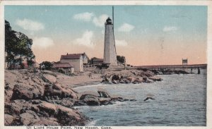 NEW HAVEN, Connecticut, 1900-1910's; Light House Point